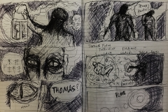 Story Board & VFX approaches (The Lighthouse)