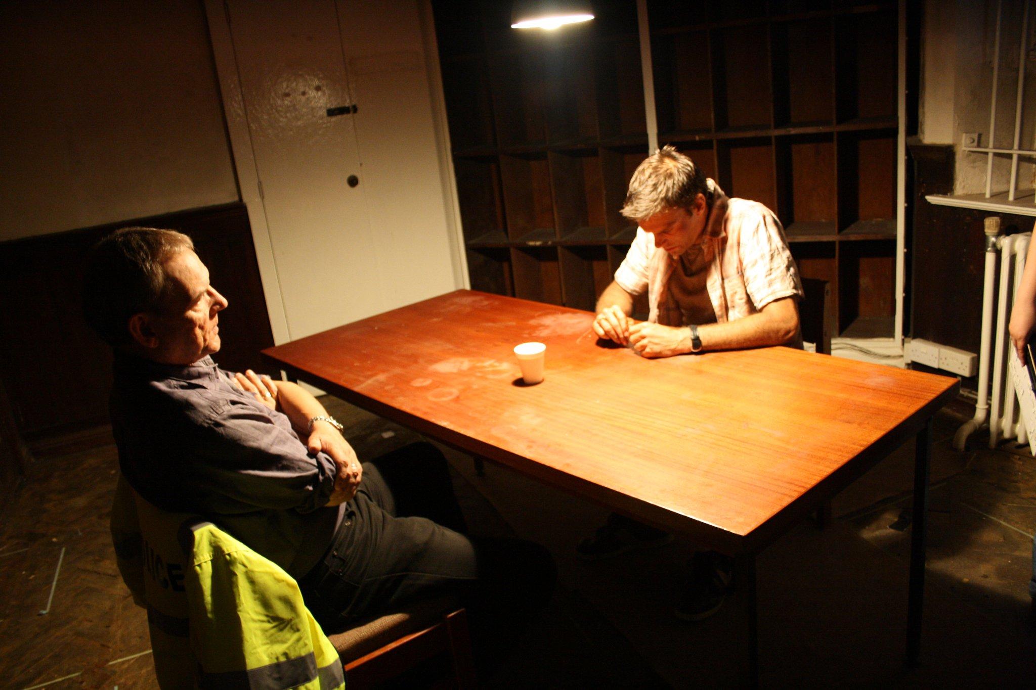 David Schofield In Cell (Devil's Bridge)